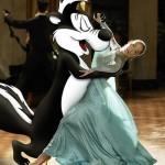 gambar kartun dansa lucu