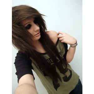 gambar emo girl style