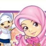 gambar kartun mulslimah comel manis