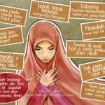 gambar kartun muslimah berdoa dilema