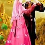 gambar kartun muslimah berpasangan dansa