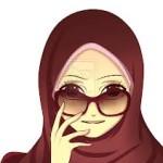 gambar kartun muslimah comel gaul
