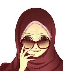 Gambar Kartun Muslimah Lucu Gambar Muslimah Kartun Gambargambar Co