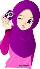 74 Gambar Kartun Muslimah Comel Dan Cantik HD