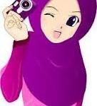 gambar kartun muslimah comel lucu