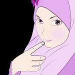 gambar kartun muslimah comel terbaru