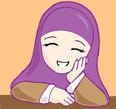 Gambar Kartun Muslimah Lucu Cantik dan Imut