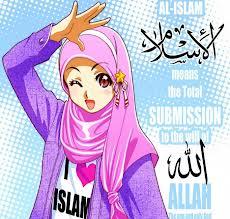 Gambar Kartun Muslimah Lucu Cantik dan Imut Bagian 2