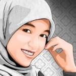 gambar kartun muslimah lucu dan cantik
