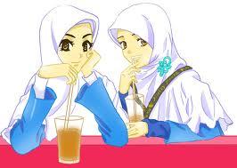 Gambar Kartun Muslimah Lucu Cantik Dan Imut Bagian 2 Gambargambar Co