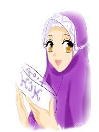 Gambar Kartun Muslimah Lucu Cantik Dan Imut Bagian 2 Gambargambarco