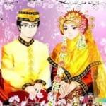gambar kartun muslimah nikah cantik