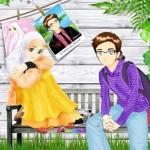 gambar kartun muslimah pasangan