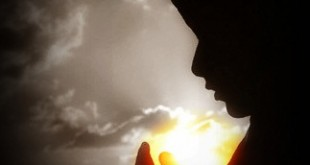 gambar kartun muslimah sedang berdoa
