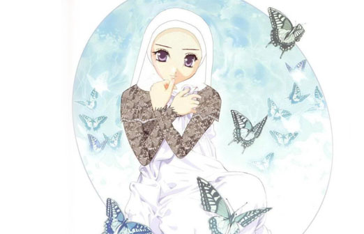 Gambar Kartun Wanita Muslimah Images Pictandpictureorg