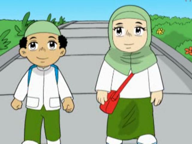 Anime Yang Mengandung Islam Gambar Kartun Anak Lucu Muslim Dan Muslimah