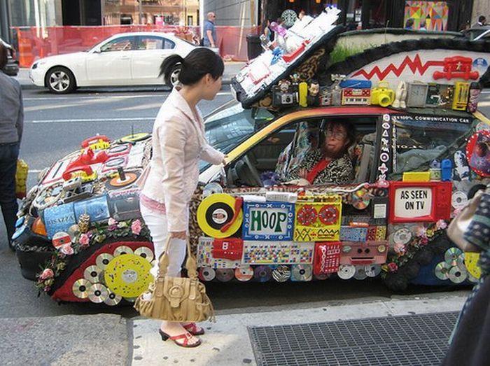 gambar mobil unik modifikasi paling gila