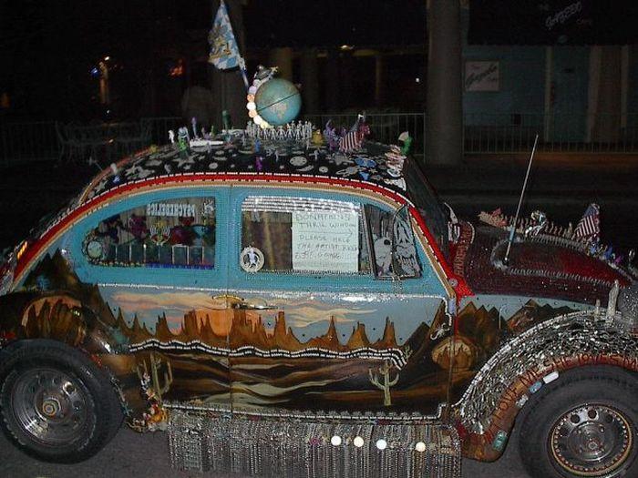 gambar modifikasi mobil antik unik dan gokil
