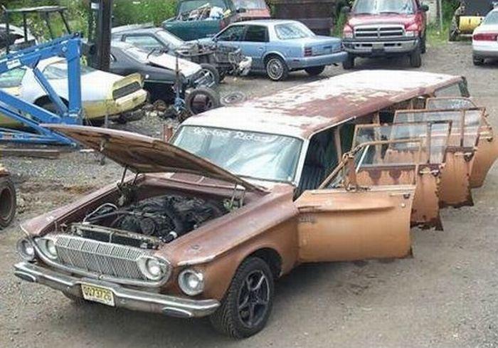 gambar modifikasi mobil dengan pintu banyak