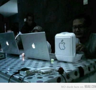 gambar lucu apple