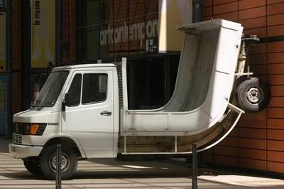 gambar lucu dan mobil aneh