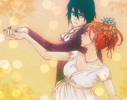 gambar kartun romantis dansa