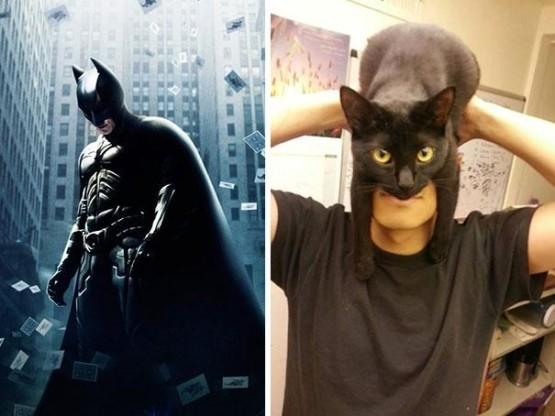 gambar cosplay batman lucu dan kreatif