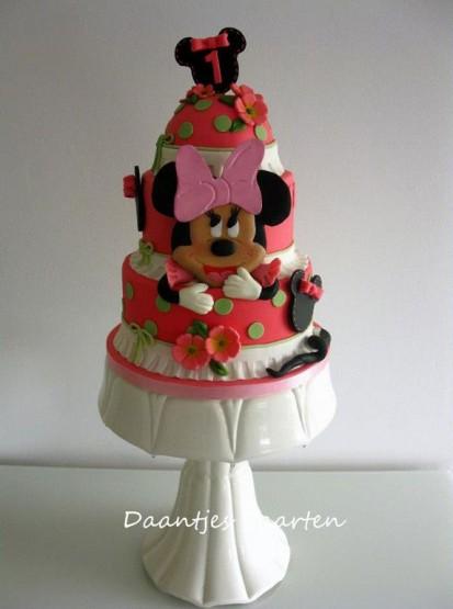 gambar kue ulang tahun untuk anak mickey mouse