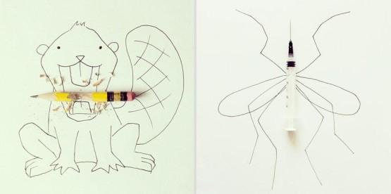 gambar ilustrasi yang unik dan kreatif