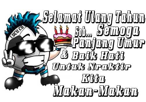 gambar kata kata ucapan selamat ulang tahun