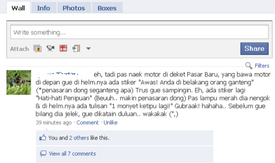 Status Fb Lucu Paling Kocak Ngakak dan Gokil kadang ...