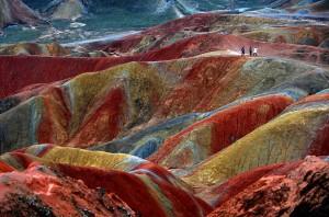 Danxia Landfroms Cina Gambar Pemandangan ALam Terindah di Dunia