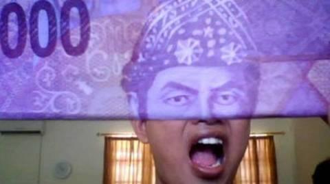 Gambar Uang 10 000 Lucu