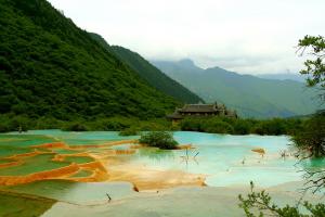 Huanglong China Gambar Pemandangan ALam Terindah di Dunia