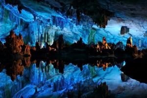 Reed Flut Cave China Gambar Pemandangan ALam Terindah di Dunia