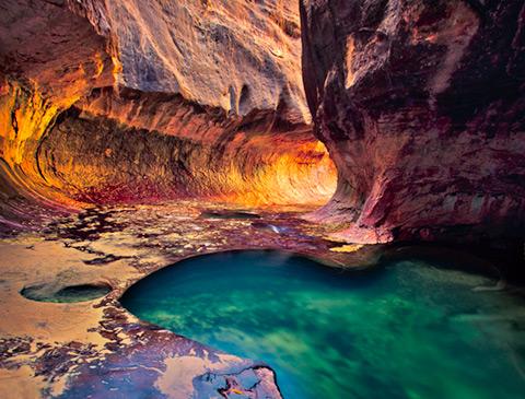 Taman Nasional Zion, Utah, USA Gambar Pemandangan ALam Terindah di Dunia