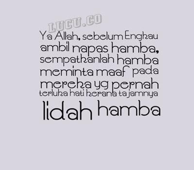 gambar kata bijak islami doa hari ini