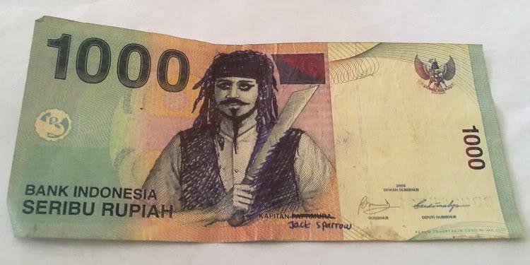 uang pesugihan gambar uang lucu