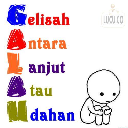 DP Putih Galau