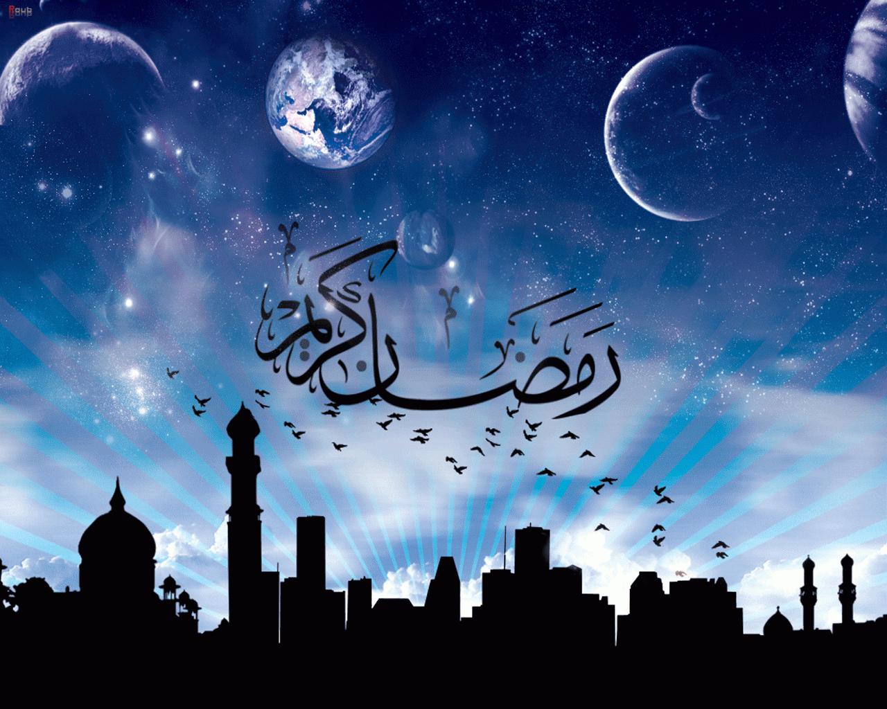 Рамадан поздравление арабском