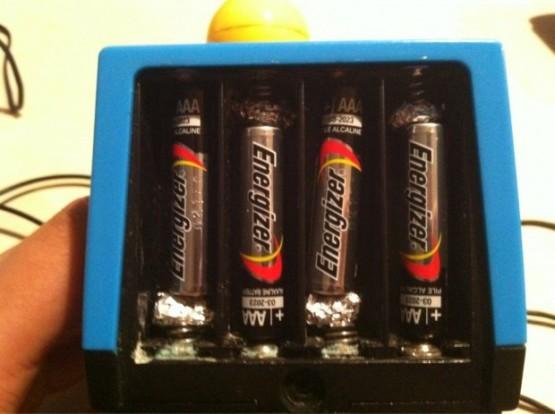 cara jika baterai tidak cocok