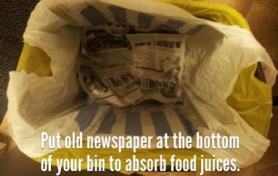 cara menggunakan tempat sampah yang benar