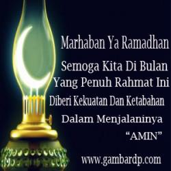 marhaban ya ramadhan dp bbm