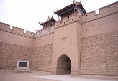 tembok dari tanah