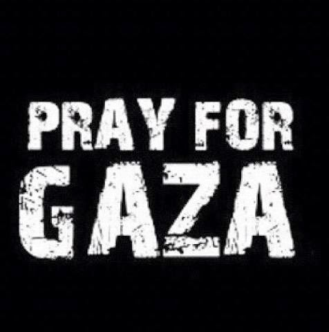 DP BBM Pray For Gaza