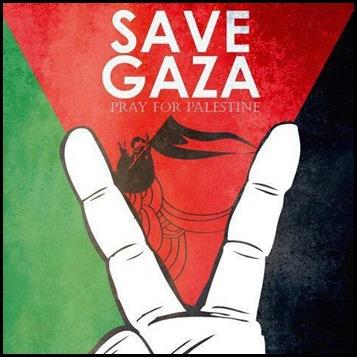 DP BBM Pray For Palestine