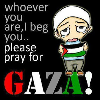 DP BBM doa untuk gaza
