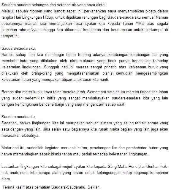 Tema Unik Dan Menarik Untuk Pidato Bahasa Indonesia ...