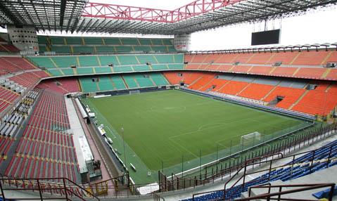 lapangan stadion ac milan