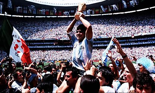 maradona diego pemain terbaik piala dunia